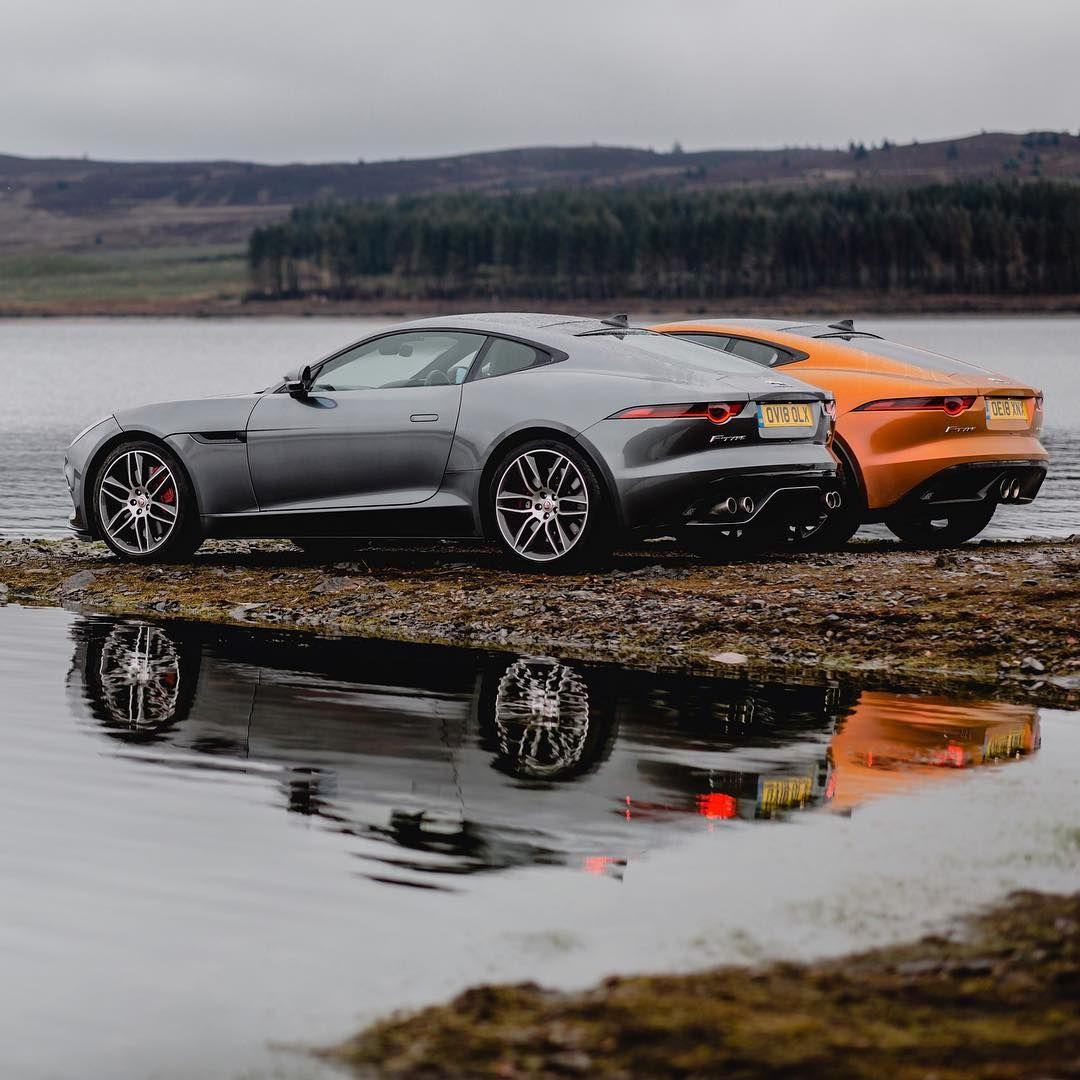 "Supercar Duo Luxurycorp Rollsroyce: Jaguar On Instagram: ""Dynamic Duo. #Jaguar #FTYPE #Coupé"