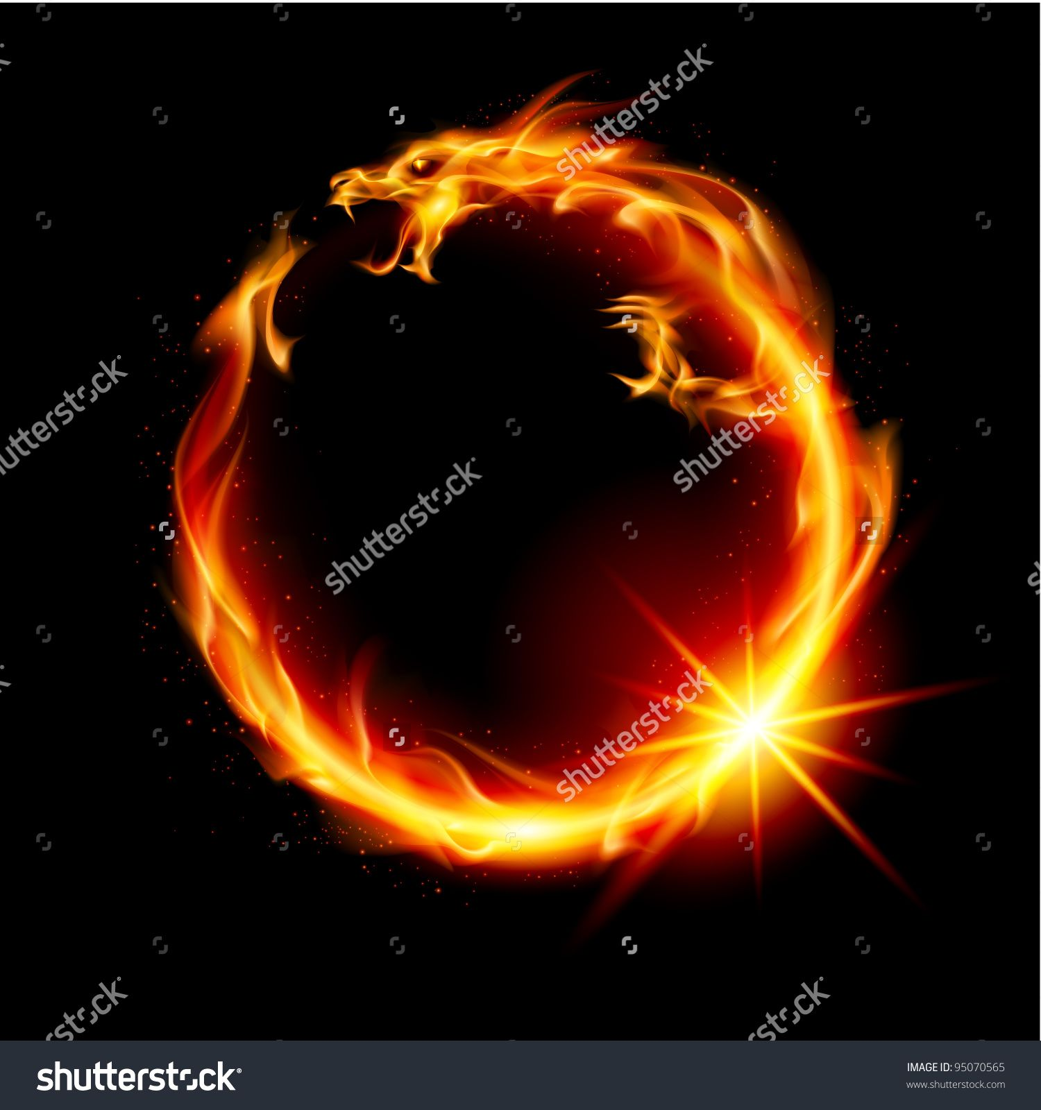 Image result for fire dragon   Fire dragon, Image, Yin yang