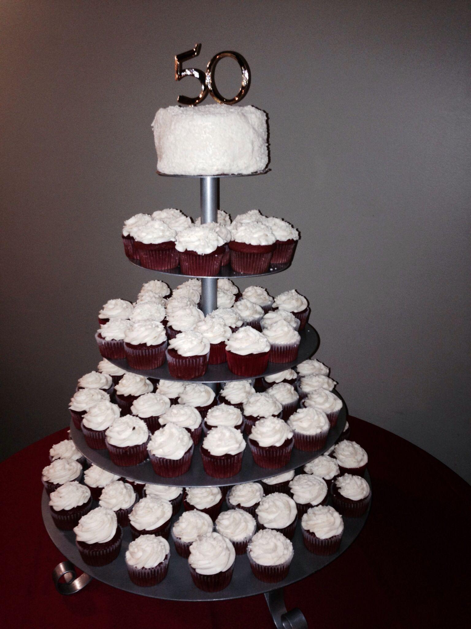 Cupcakes By Fanisha 50th Birthday Cake