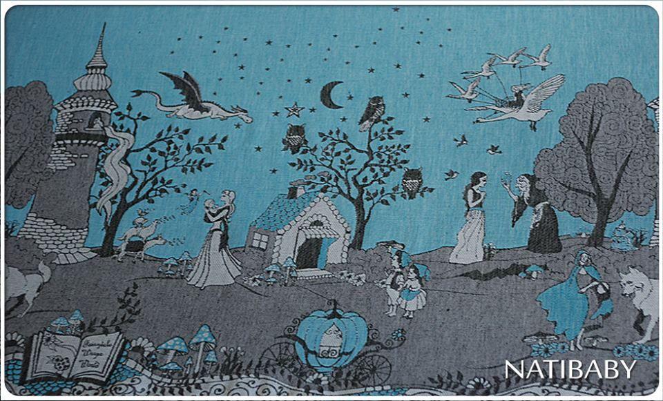Natibaby Sprookjes Doek Fairytale Wrap 212 Wrap Hemp Wraps