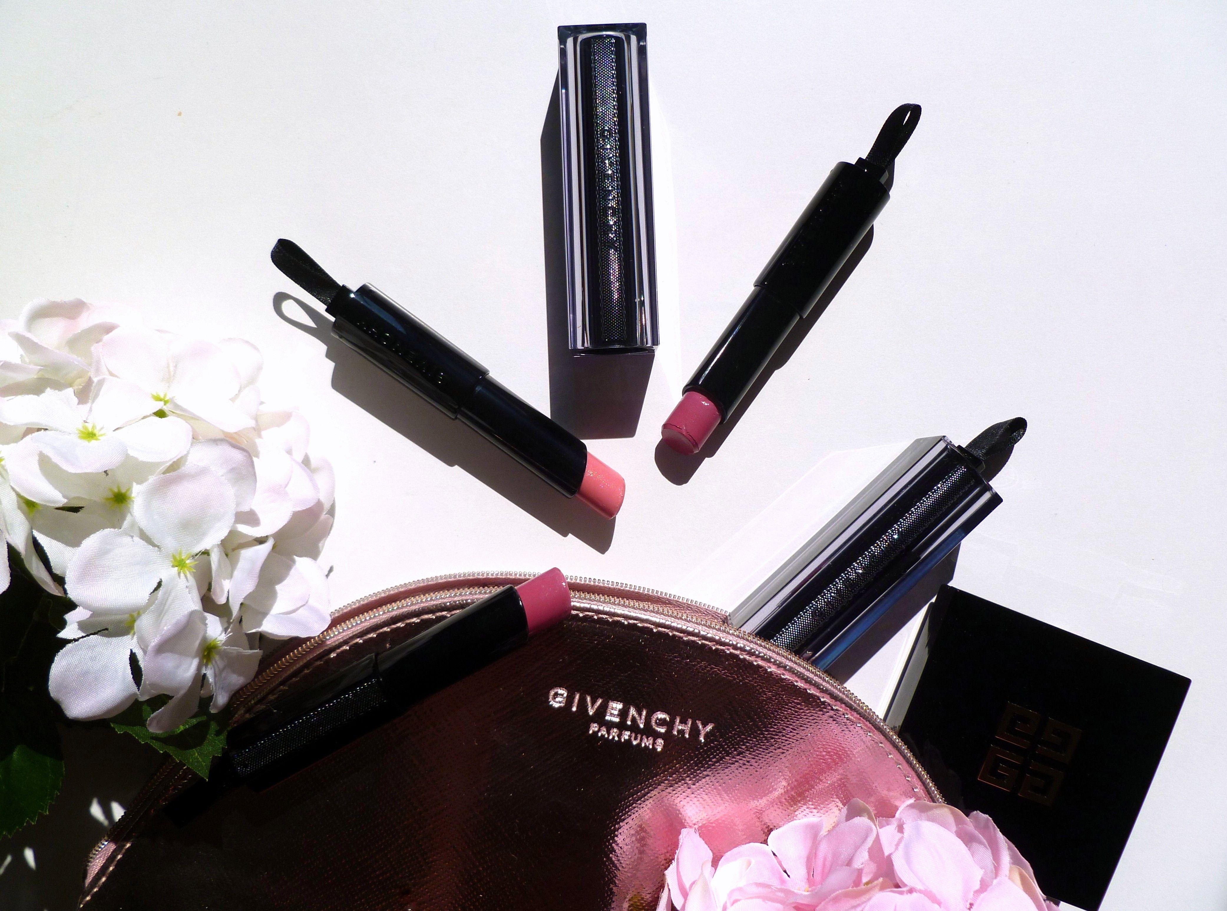 Rouge Interdit Vinyl Givenchy - Blog beauté - flat lay