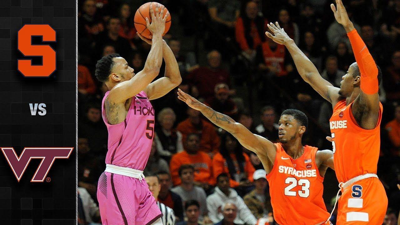 Syracuse vs. Virginia Tech Basketball Highlights (201819