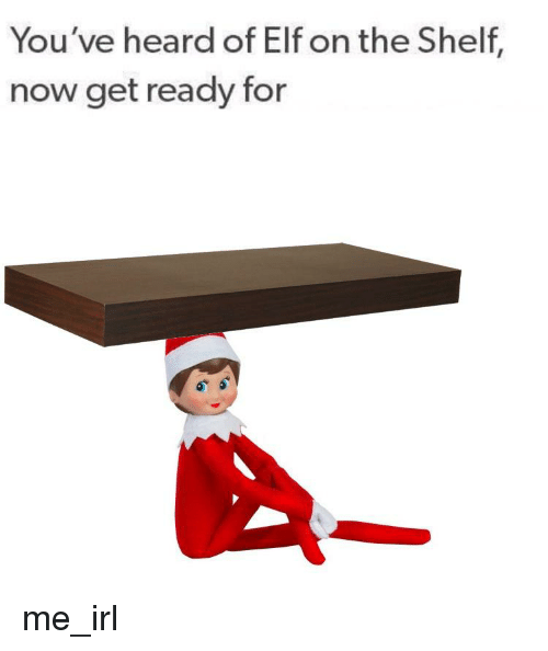 how to make a elf on the shelf meme