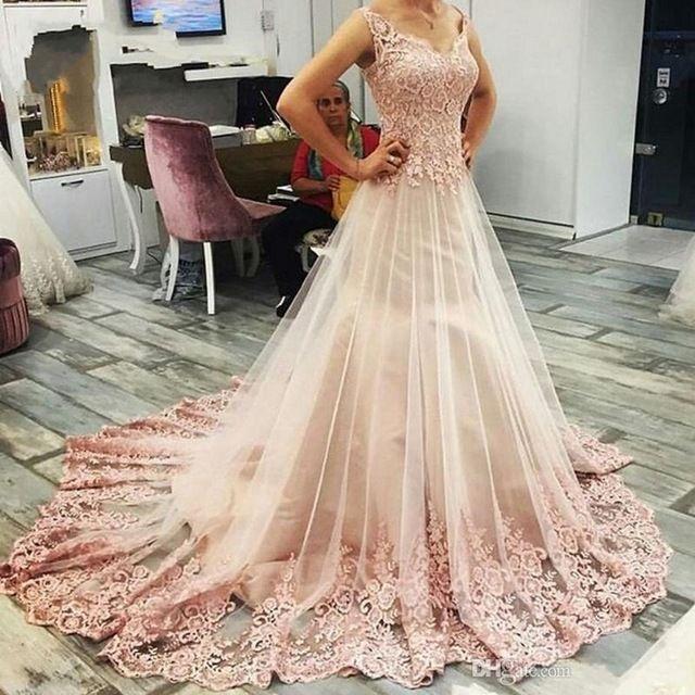 Prom Dresses 2017Elegant Lace DressesA Line