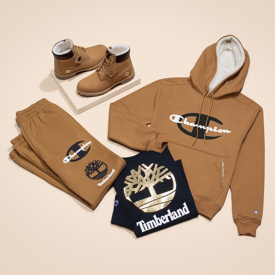 e5c2ac0da73  Timberland x  Champion. The perfect combination for style is now available  to add to your collection. Kids  sizes also available.