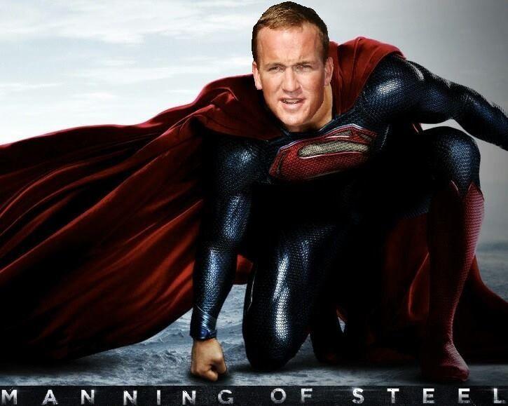 Peyton manning and being superman football pinterest peyton manning and being superman voltagebd Choice Image