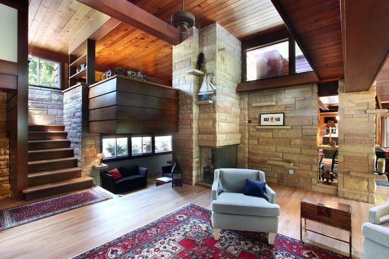 1957 midcentury modern by architect john randal mcdonald mid century love pinterest maison - Idees decors du milieu du siecle salon ...