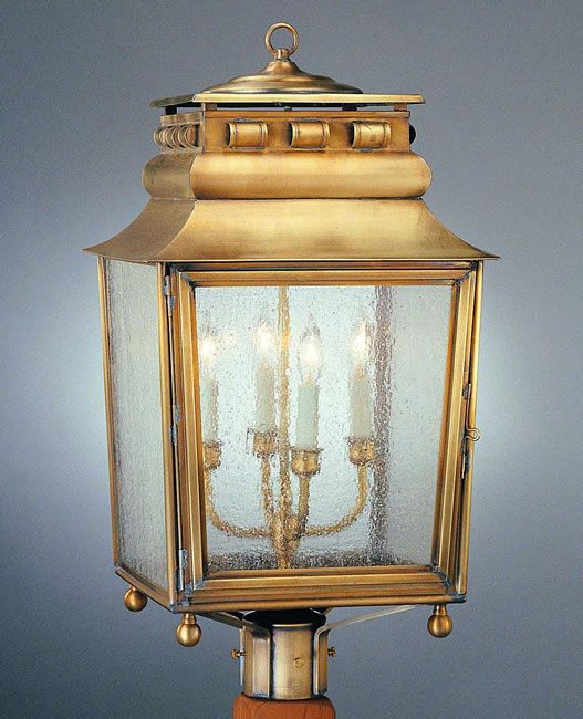 French Provincial Post Light Model No