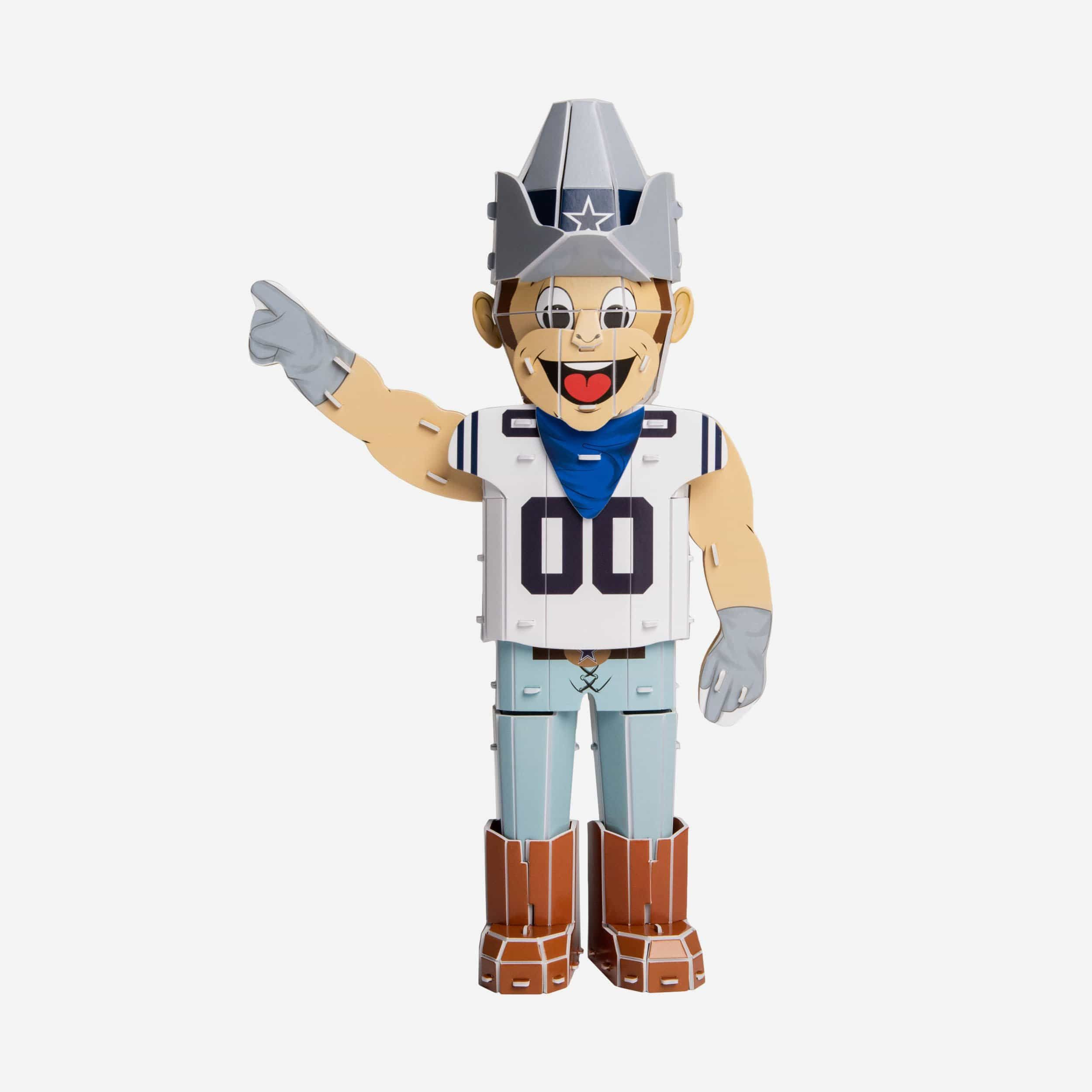 Rowdy Dallas Cowboys Pzlz Mascot In 2021 Dallas Cowboys Football Team Dallas Cowboys Cowboys