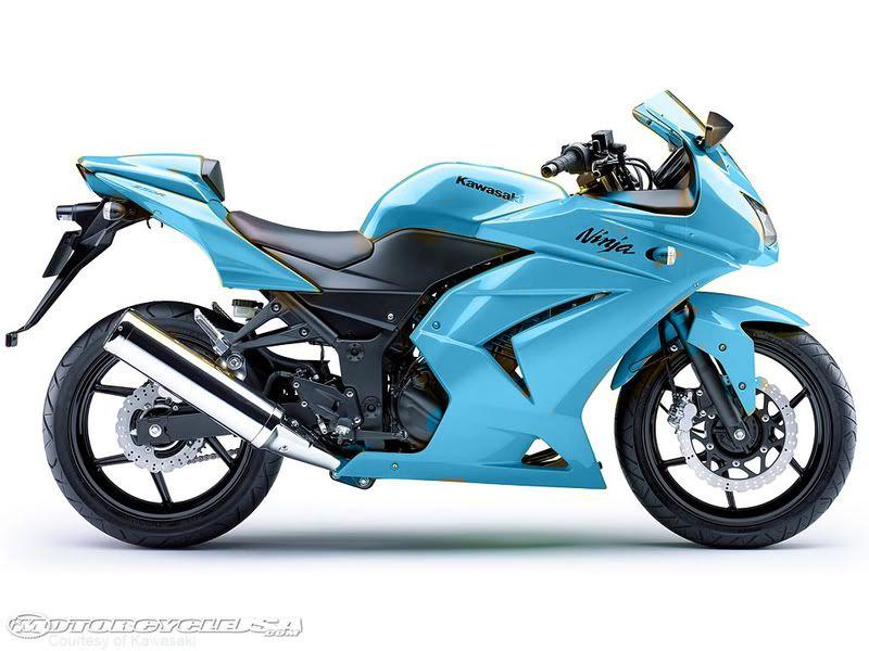 Ninja in baby blue | sport cars n motocycles | Kawasaki motorcycles
