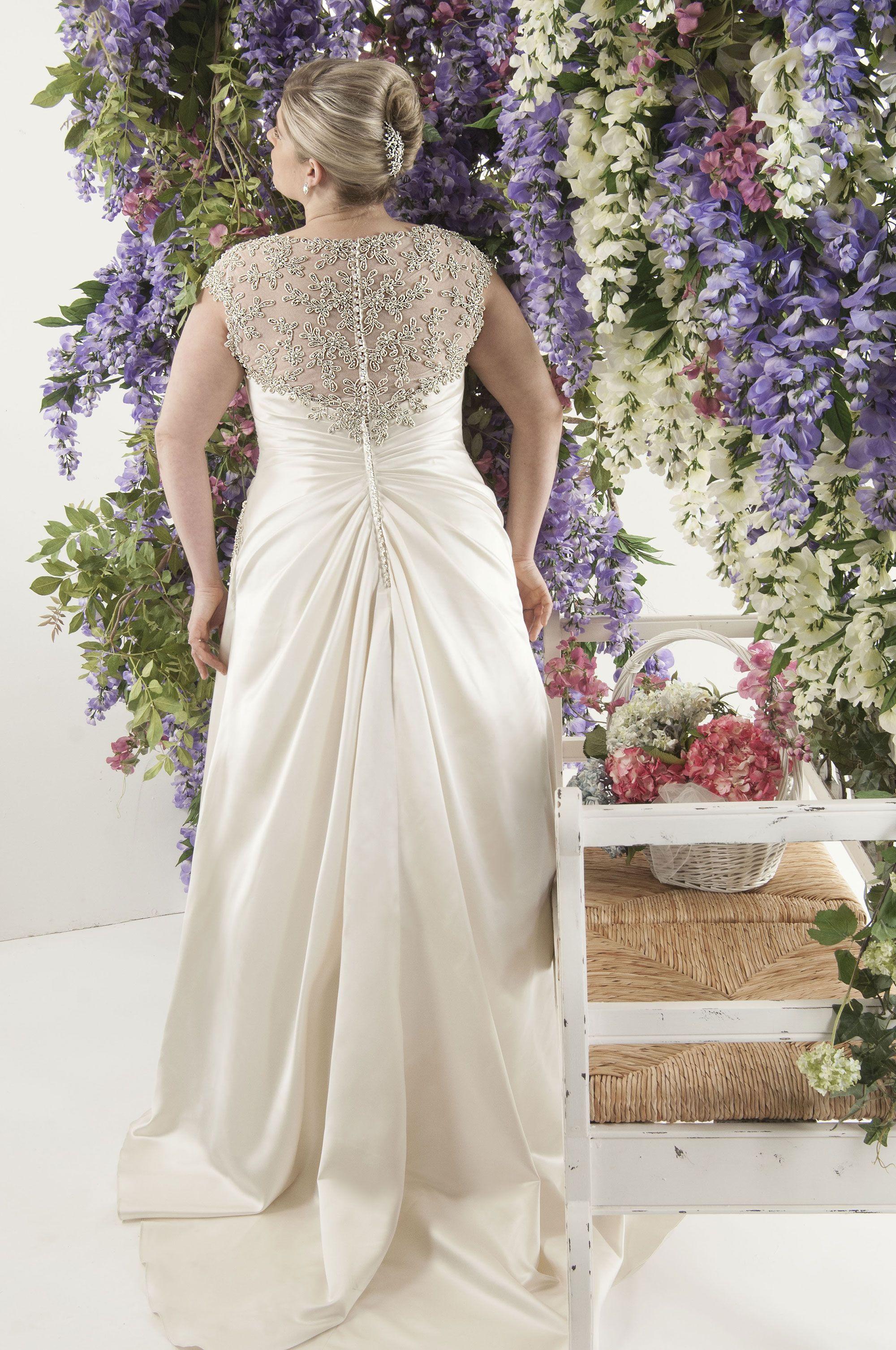 Callista barcelona plus size wedding dress weddings pinterest