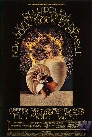 Pink Floyd - Fillmore West, San Francisco, California (October 1970)