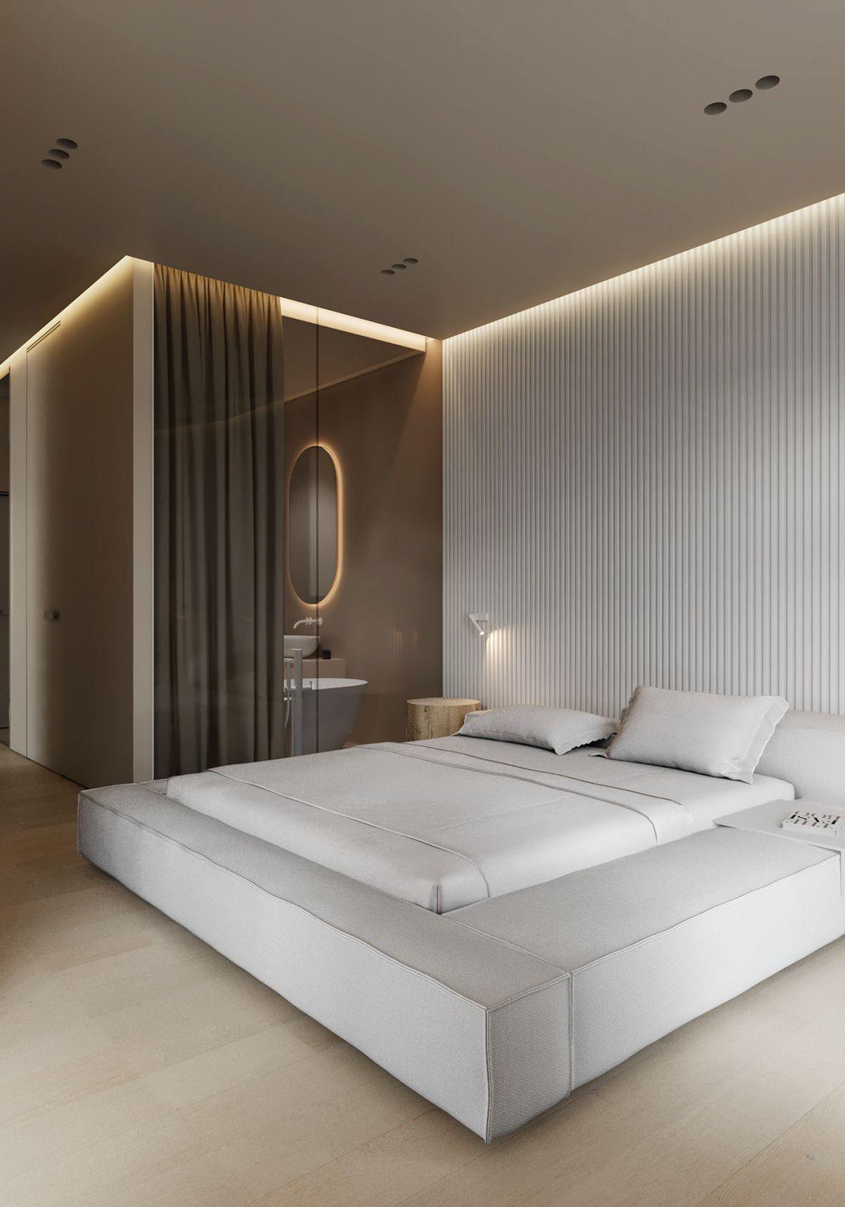 AP I white sand on Behance   Home room design, Modern bedroom ...