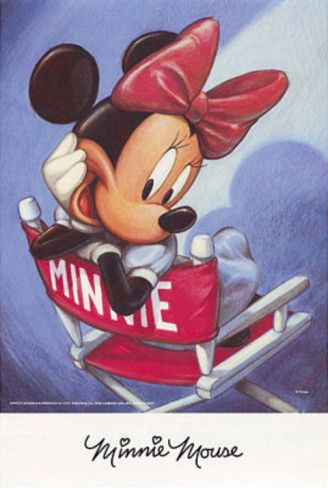 Minnie Mouse Director's Chair Posters at AllPosters.com
