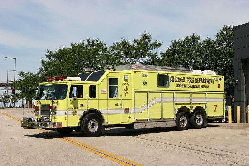 Detroit Fire Apparatus Chicago Fire Department OHare