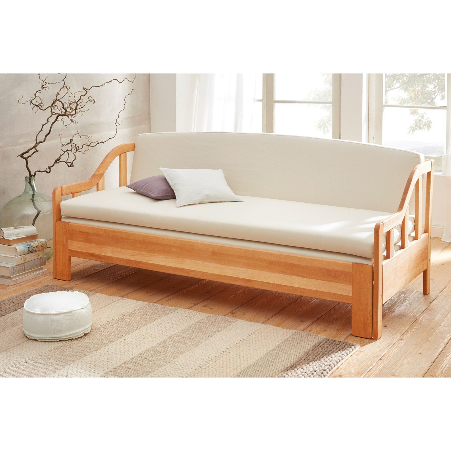Daybed Holz Daybed Anthrazit Schlafsofa In 2019