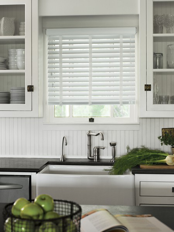 Four Modern Kitchen Window Treatment Ideas