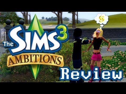 LGR - The Sims 3 Ambitions Review - YouTube   Games   Sims 3