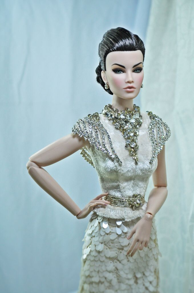Elsa Lin Doll Couture Bridal In 2018 Pinterest Fashion Dolls