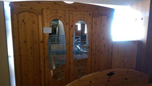 Schlafzimmer komplett mitDoppelbett 1,80m x 2mKleiderschrank 4 - schlafzimmer auf rechnung