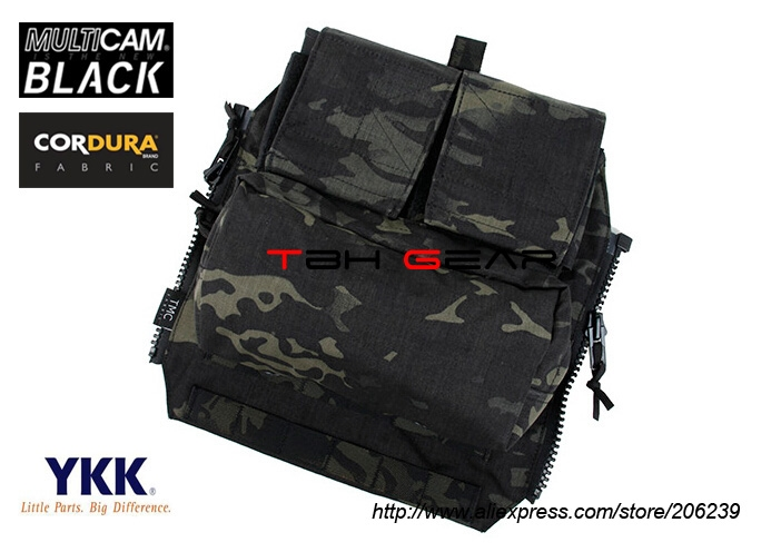 51.00$  Watch now - http://ais8y.worlditems.win/all/product.php?id=32692275167 - TMC Pouch Zipper Panel Pouch Multicam Black Tactical Zip Ammo Pouch Back Panel+Free shipping(SKU12050341)