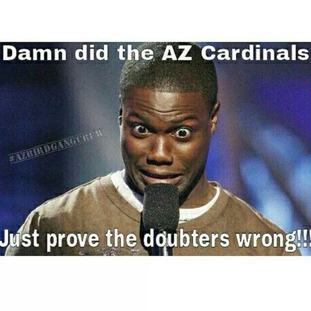 Az Cardinal Memes Bird Gang Az Cardinals Football Kevin Hart