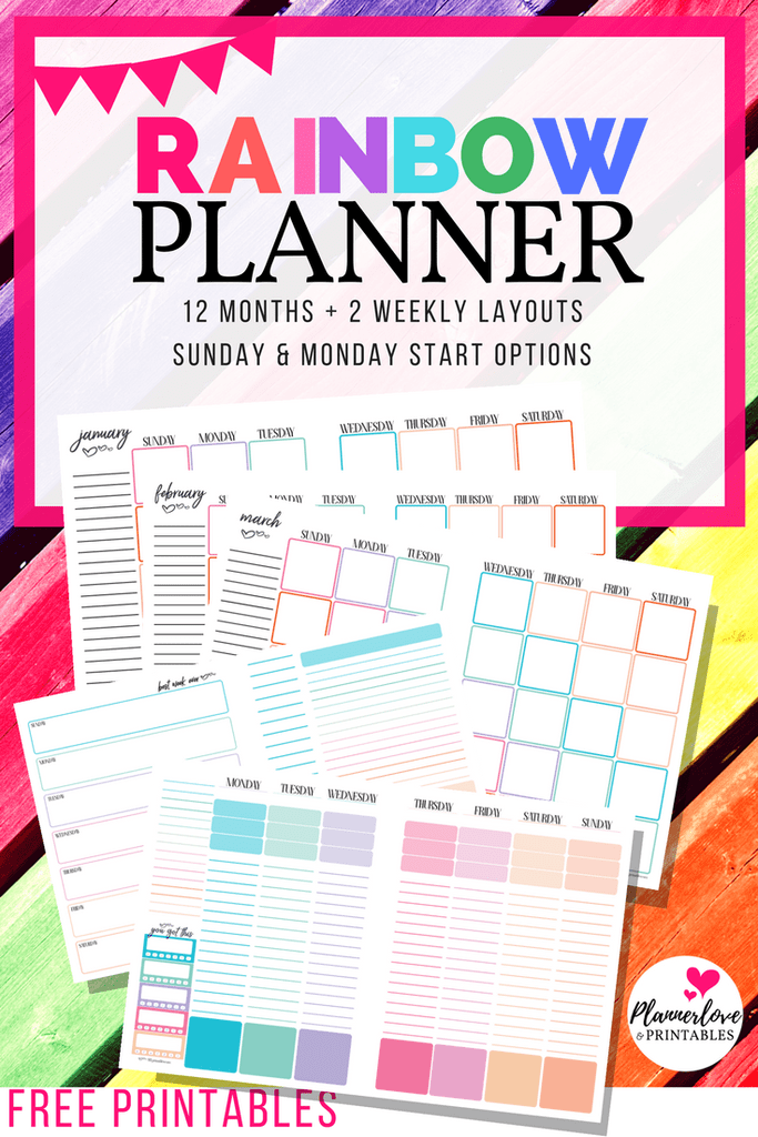 Weekly Planner Business Planner Personal Planner Calendars 2018-2020 A4 A5