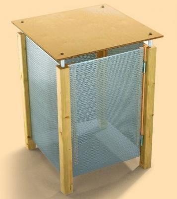 m lltonnen verkleidung bauen bussardines diy pinterest m lltonne tonne und m ll. Black Bedroom Furniture Sets. Home Design Ideas