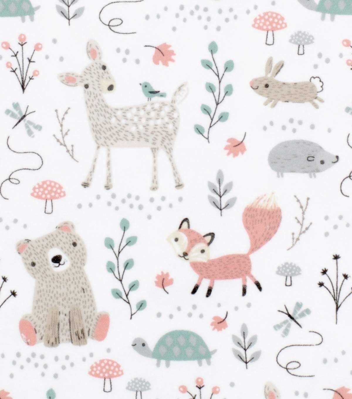 Nursery Cotton Fabric 43 Woodland Animals In 2020 Nursery