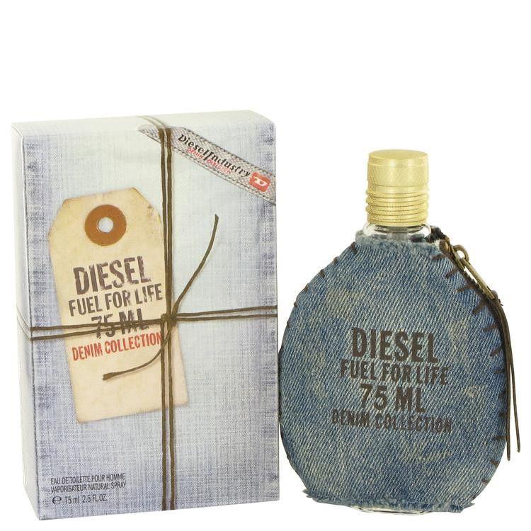 Fuel For Life Denim by Diesel Eau De Toilette Spray 2.5 oz