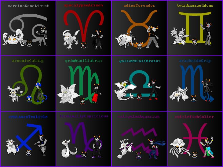 Homestuck Trolls With Signs And Pokemons Gamzee A Dratini Can You Imagine Flying Around On Fricken Dragonight