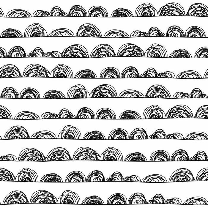 Roommates Doodle Scallop Peel Stick Wallpaper In 2020 Peel And Stick Wallpaper Vinyl Wallpaper Wallpaper Roll
