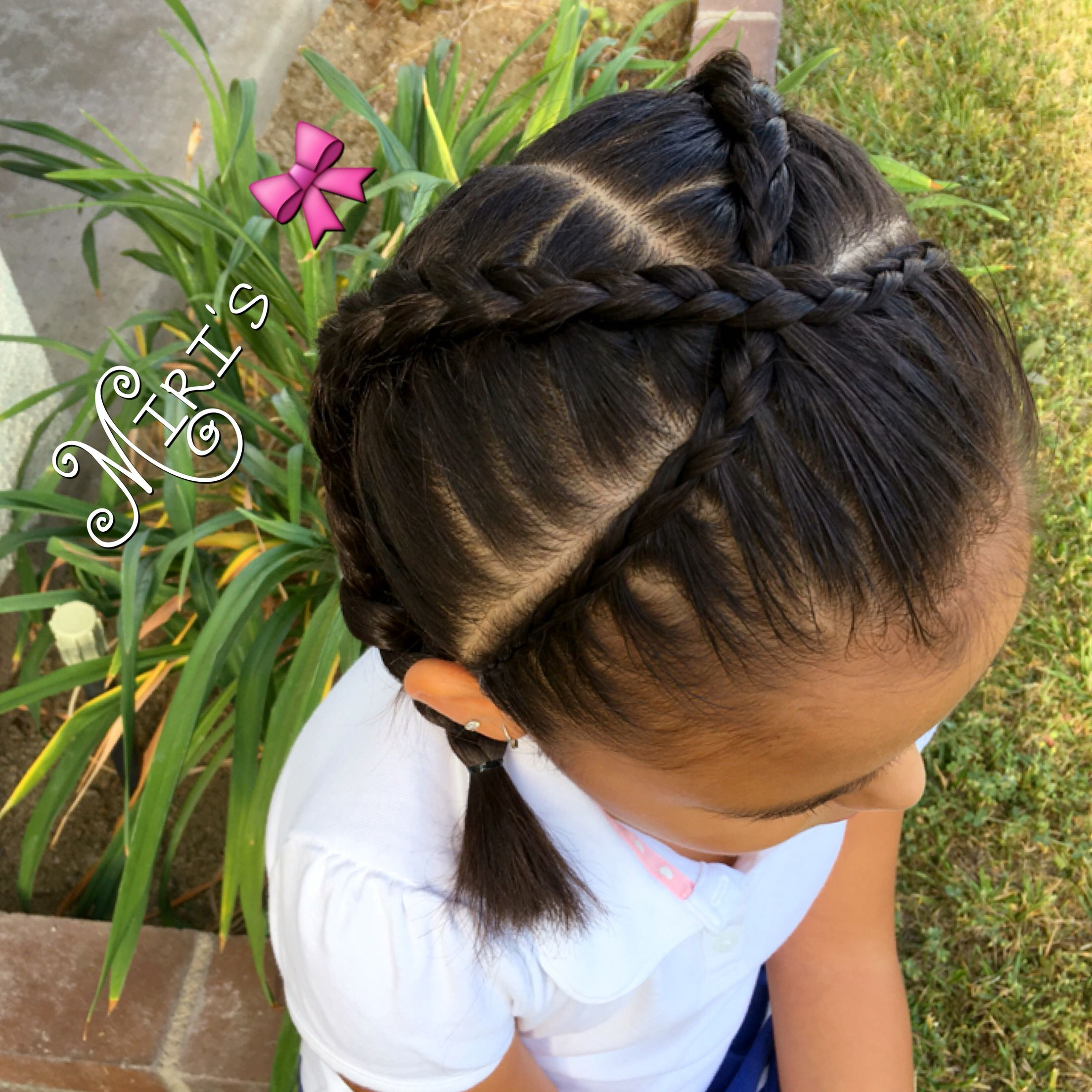 Hair Style For Little Girls Braided Hairstyles Kids