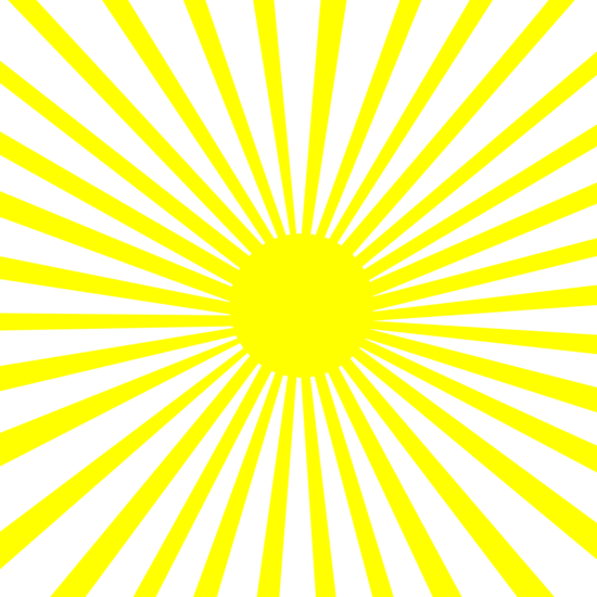 White And Yellow Action Lines Pattern Clip Art Free Clip Art Happy Sunshine