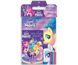 My Little Pony The Movie Mane Ificent Colouring Target 4