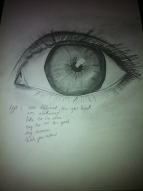 eye drawing by Jocelyn Knoll   Images We Love   Drawings