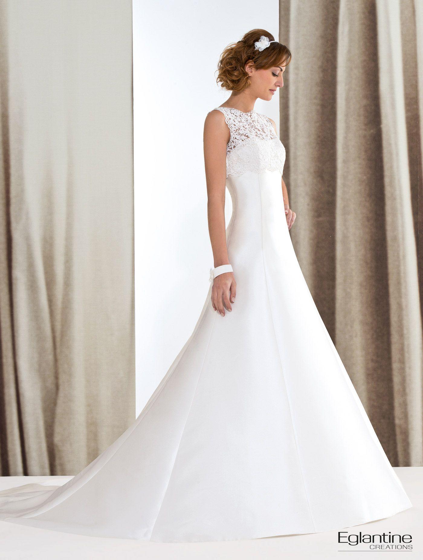 Brautkleid von Eglantine Creations Eine klare Linie für ein Kleid ...
