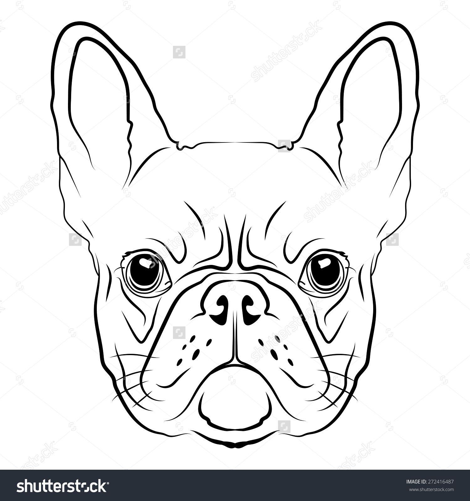 Znalezione Obrazy Dla Zapytania French Bulldog Graphic Bulldogge Tattoo Franzosische Bulldoggen Kunst Tiere Zeichnen