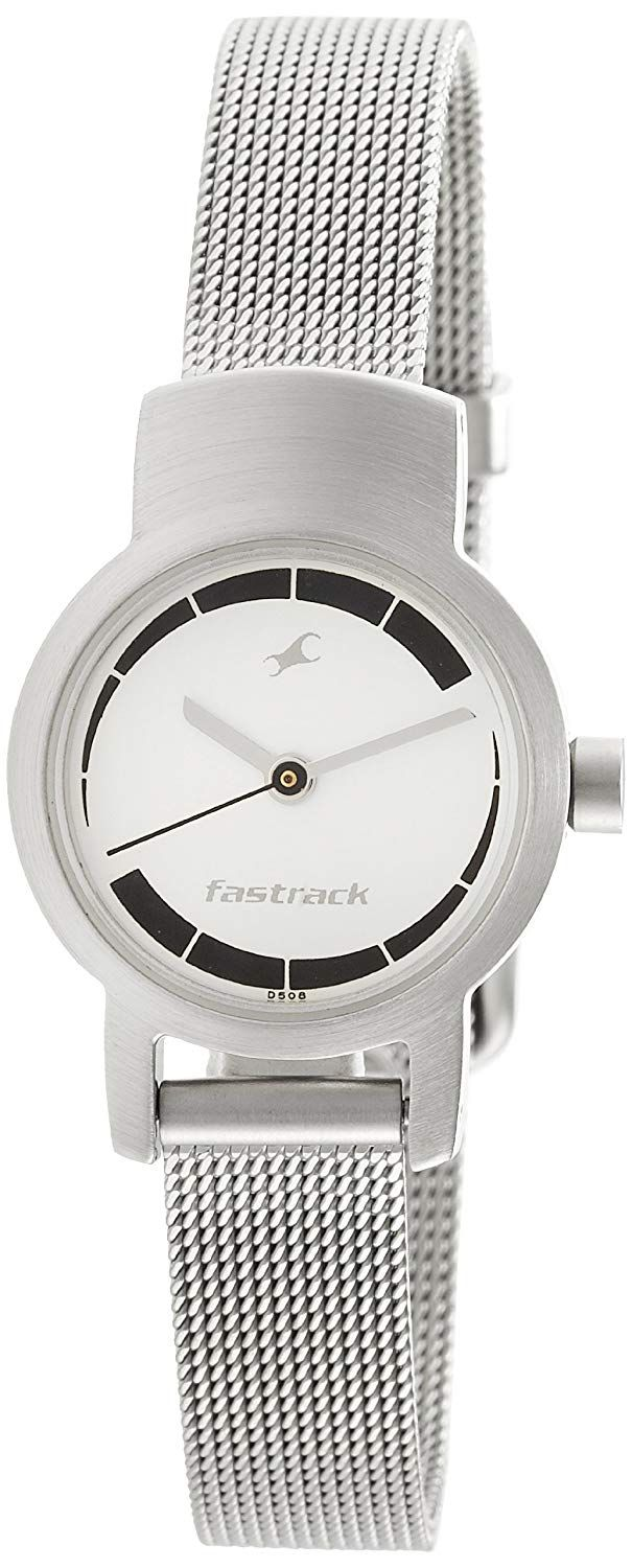 Fastrack UpgradeCore Analog White Dial Women's Watch