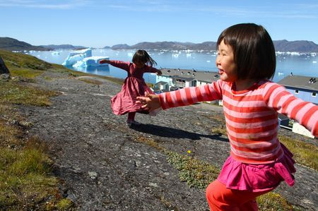 Living among icebergs Photo by Carla Mota -- National Geographic Your Shot