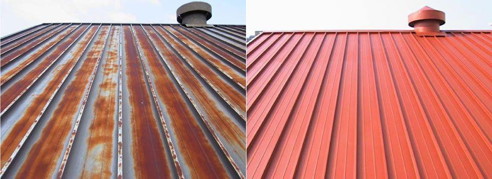 Metal Roof Coating Cost In 2020 Metal Roof Coating Metal Roof Paint Metal Roof