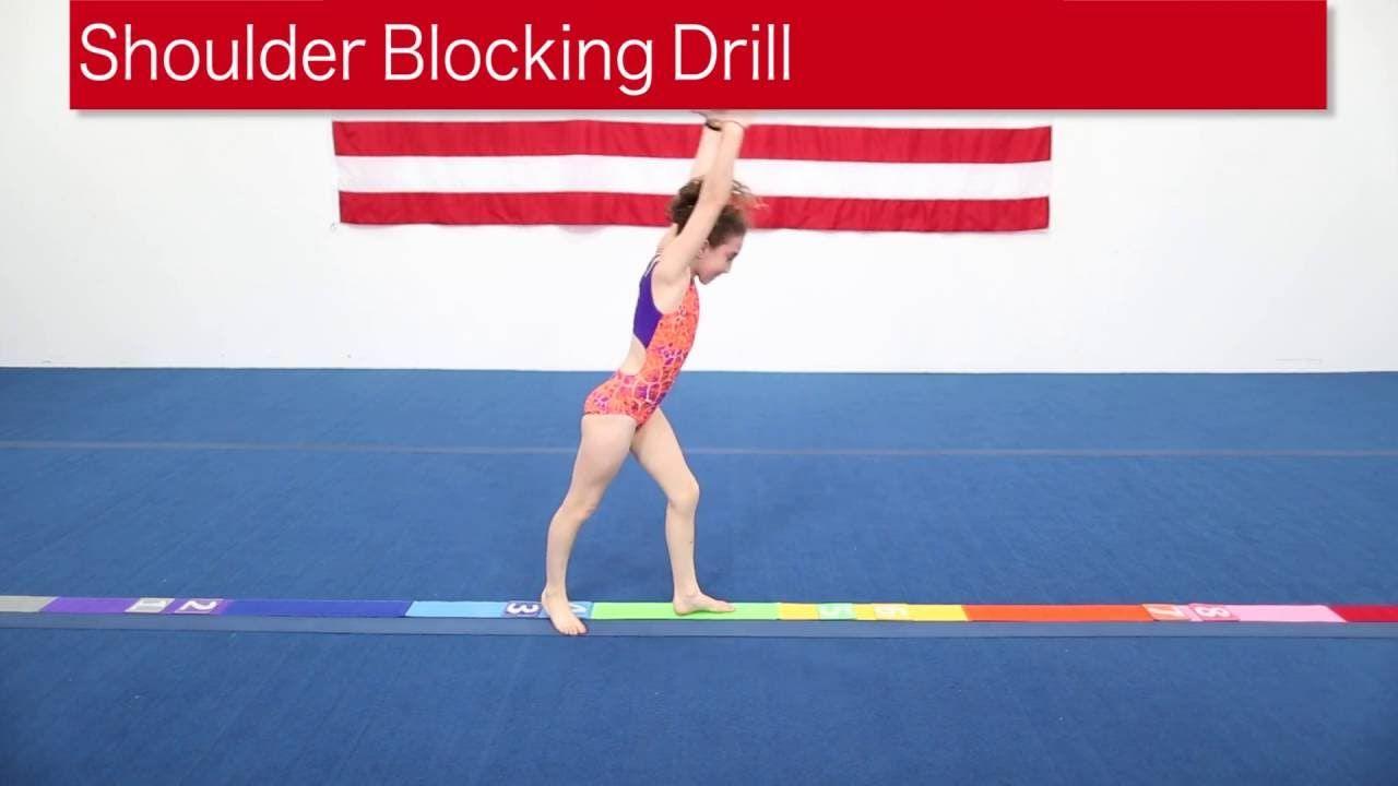 Shoulder Stand Drills In Gymnastics