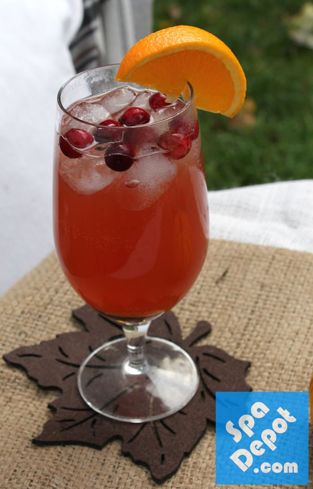 Fall cranberry orange cocktail recipe parties for Fall cocktail ideas