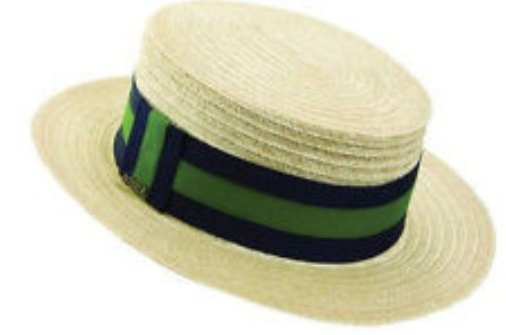 1920's boater hat