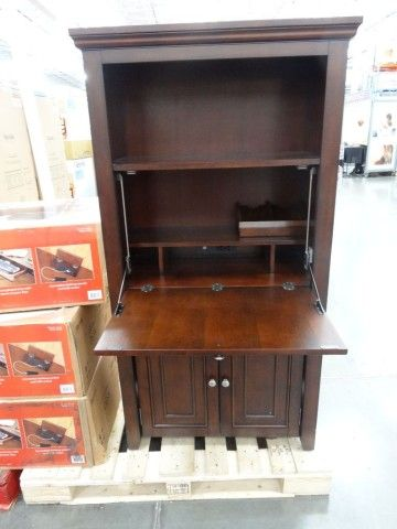 office star products ravenna hideaway desk costco computer