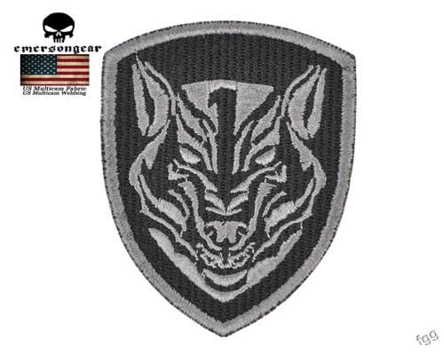 Emersongear 5 Pcs Lot Airsoft Military Patch Wolf Head Embroidery Molle  Patch Badges Patch DIY Custom Stickers Hunting Accessory 24671ac5ca3