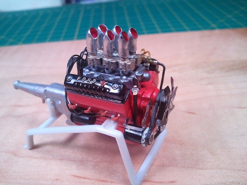 312 Y Block Amt S 56 Ford Kit By Davemodeltech Model Cars