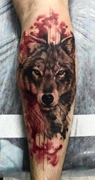 Photo of Beste 100 Wolf Tattoo-Ideen für Männer am Arm