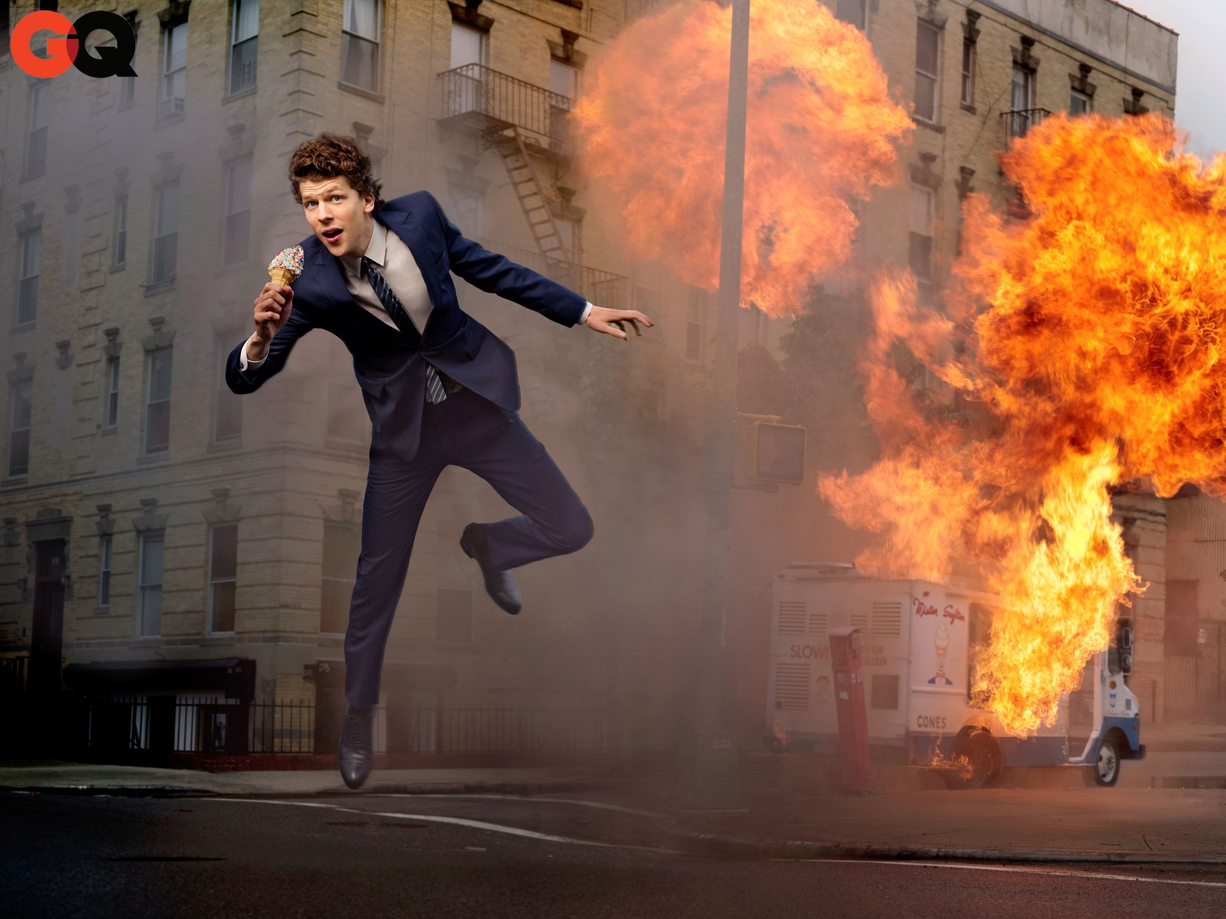 Jesse Eisenberg is Blowing Up | Business casual men, Mens