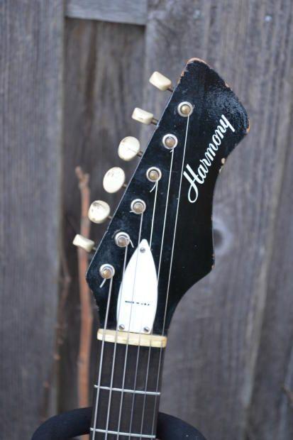Harmony Bobkat 1960s Reverb Electric Guitar Guitar Guitar Design